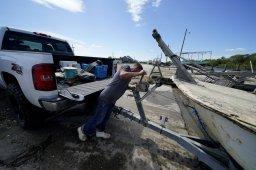huracán delta en Luisiana