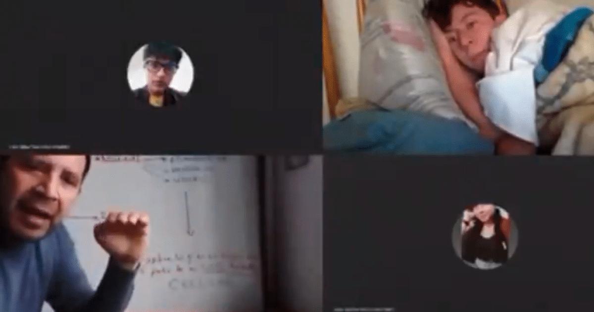 video viral estudiante colombia