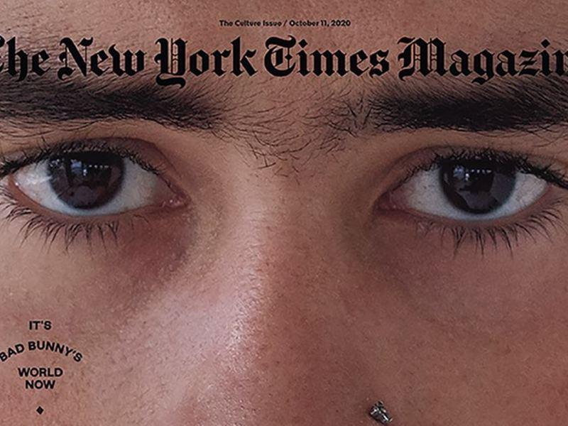 Bad Bunny es la nueva portada de The New York Times