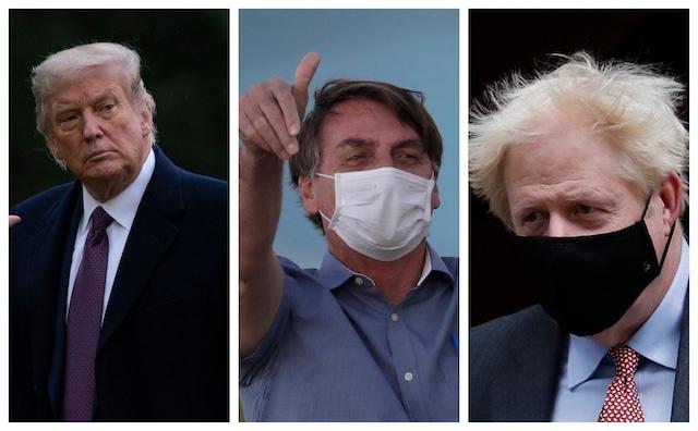 ¿Cuáles son los líderes mundiales que se han contagiado con COVID-19?