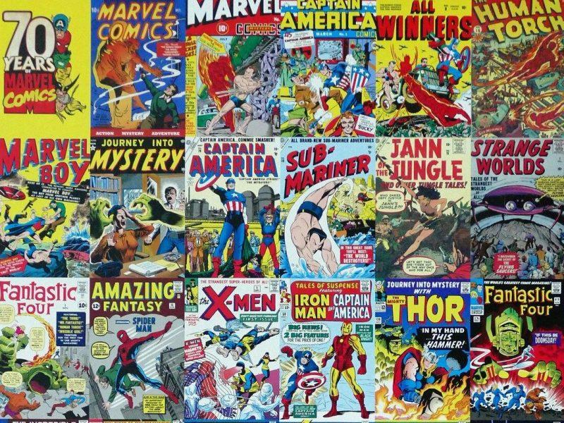 superhéroes Marvel DC películas