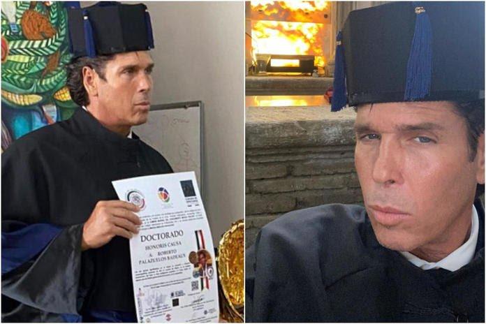 Roberto Palazuelos recibió un Doctorado Honoris Causa