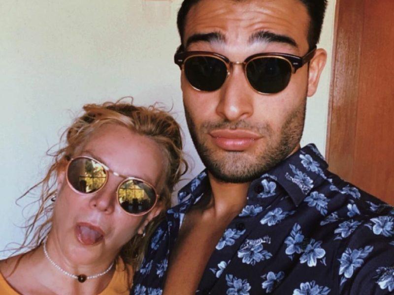 Britney Spears y Sam Asghari de vacaciones