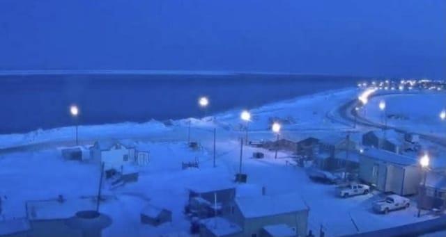 En esta ciudad de Alaska no volverá a brillar el sol en el 2020