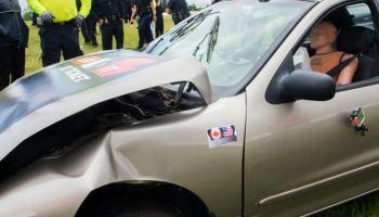 Abrochado multado está en marcha en Carolina del Norte