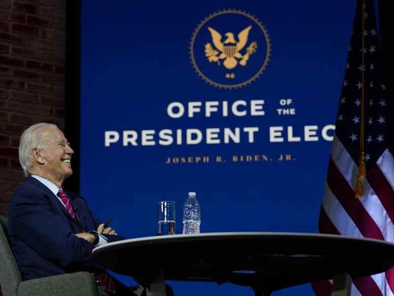 El sitio web para transición de Biden ya es .gov