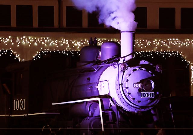 Espectáculo de luces en el Museo de Transporte por primera vez