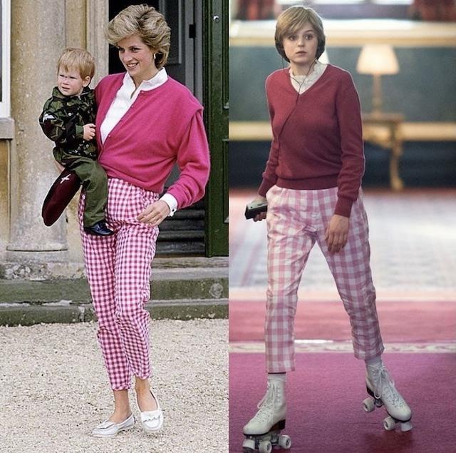 """""""The Crown"""" revivió el furor por la moda de la Princesa Diana"""