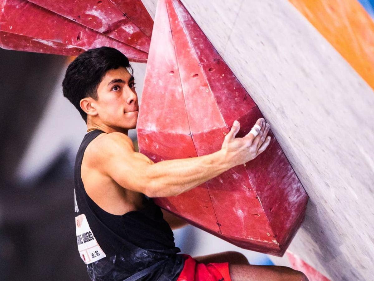 Adrián Martínez escalador mexicano Carolina del Norte