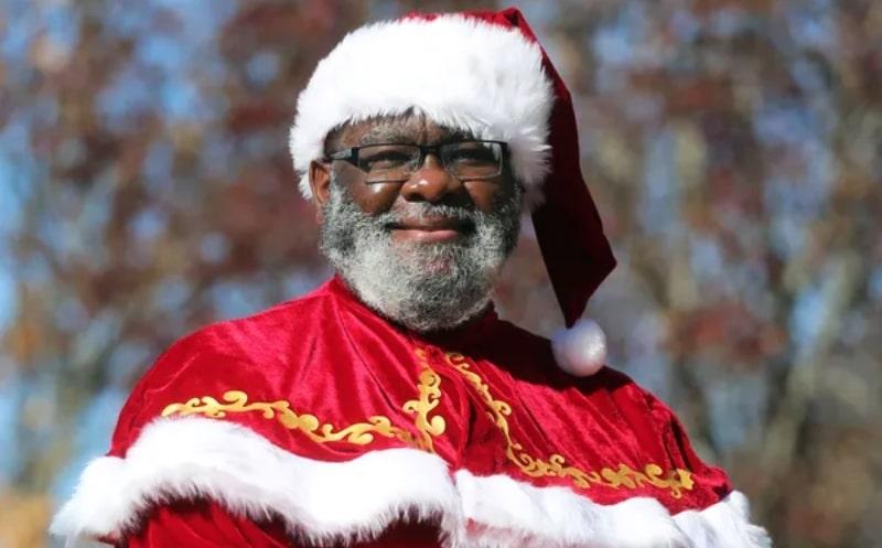 Santa Claus Negro Carolina del Norte