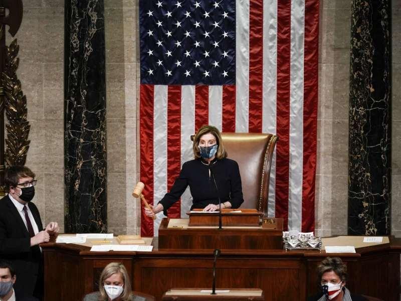 Cámara de Representantes vota a favor de destituir a Donald Trump