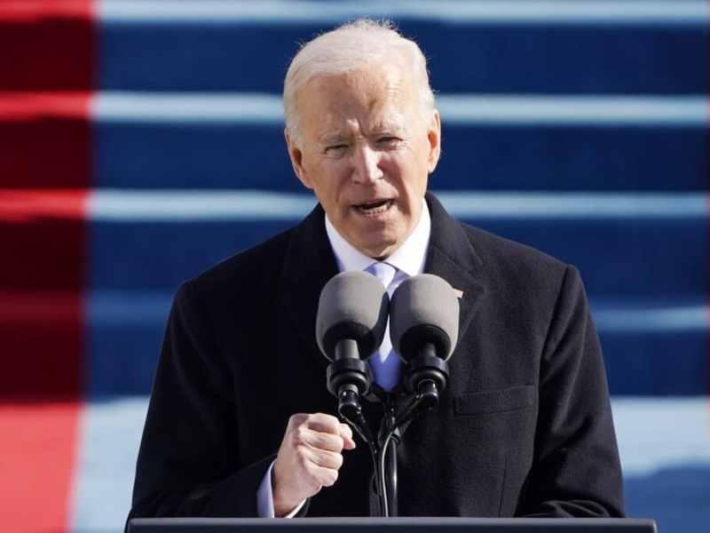 Las mejores fotos de la investidura presidencial de Joe Biden