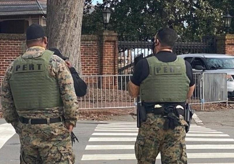 Raleigh protestas Joe Biden