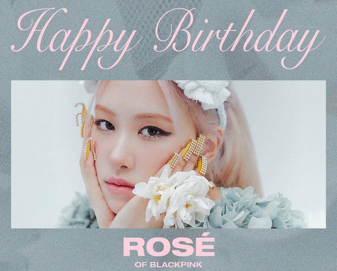 rosé blackpink cumpleaños