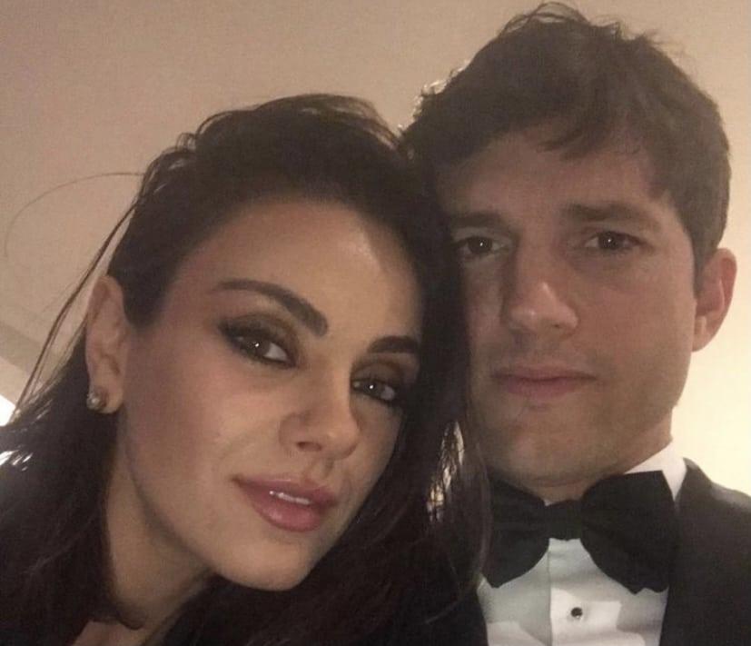Ashton Kutcher y Mila Kunis salieron de casa durante la pandemia para esto
