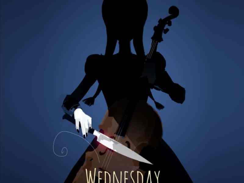 Wednesday Addams Netflix Burton