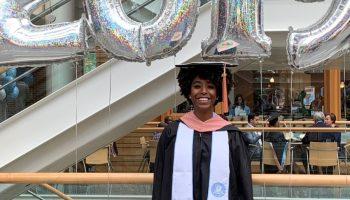 Reatna Taylor se graduó de UNC-Chapel Hill en 2019