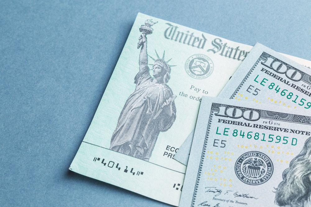 Senado da primer paso para cheque de estímulo de $1,400
