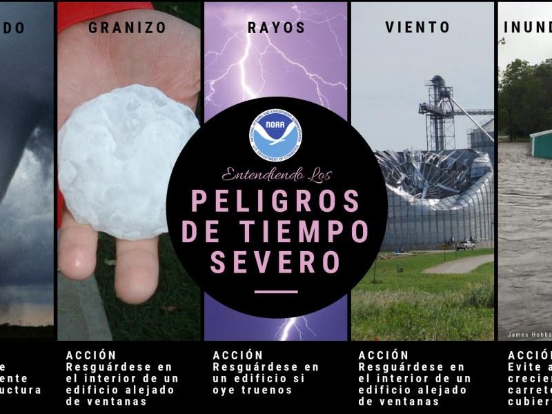 cómo prepararse tormentas y tornados