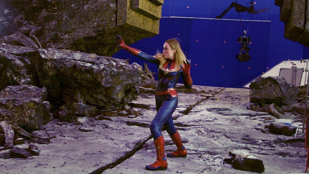 Brie Larson Capitana Marvel II