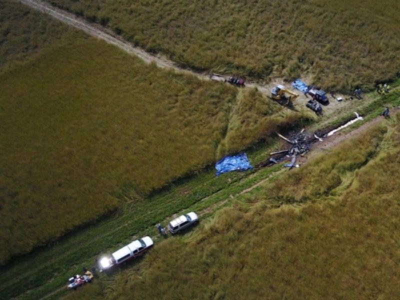 Accidente helicóptero 2017
