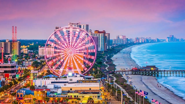 Myrtle Beach: 7 actividades que te harán amar esta playa