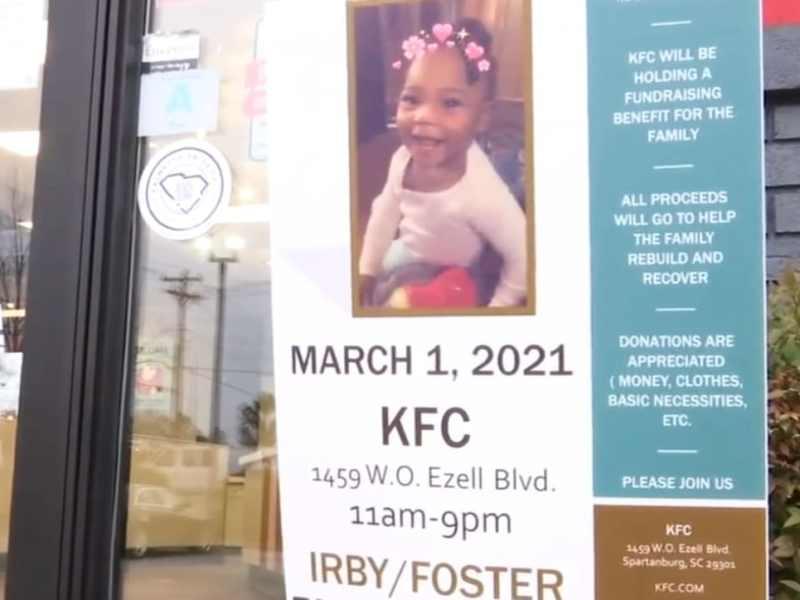 KFC niña