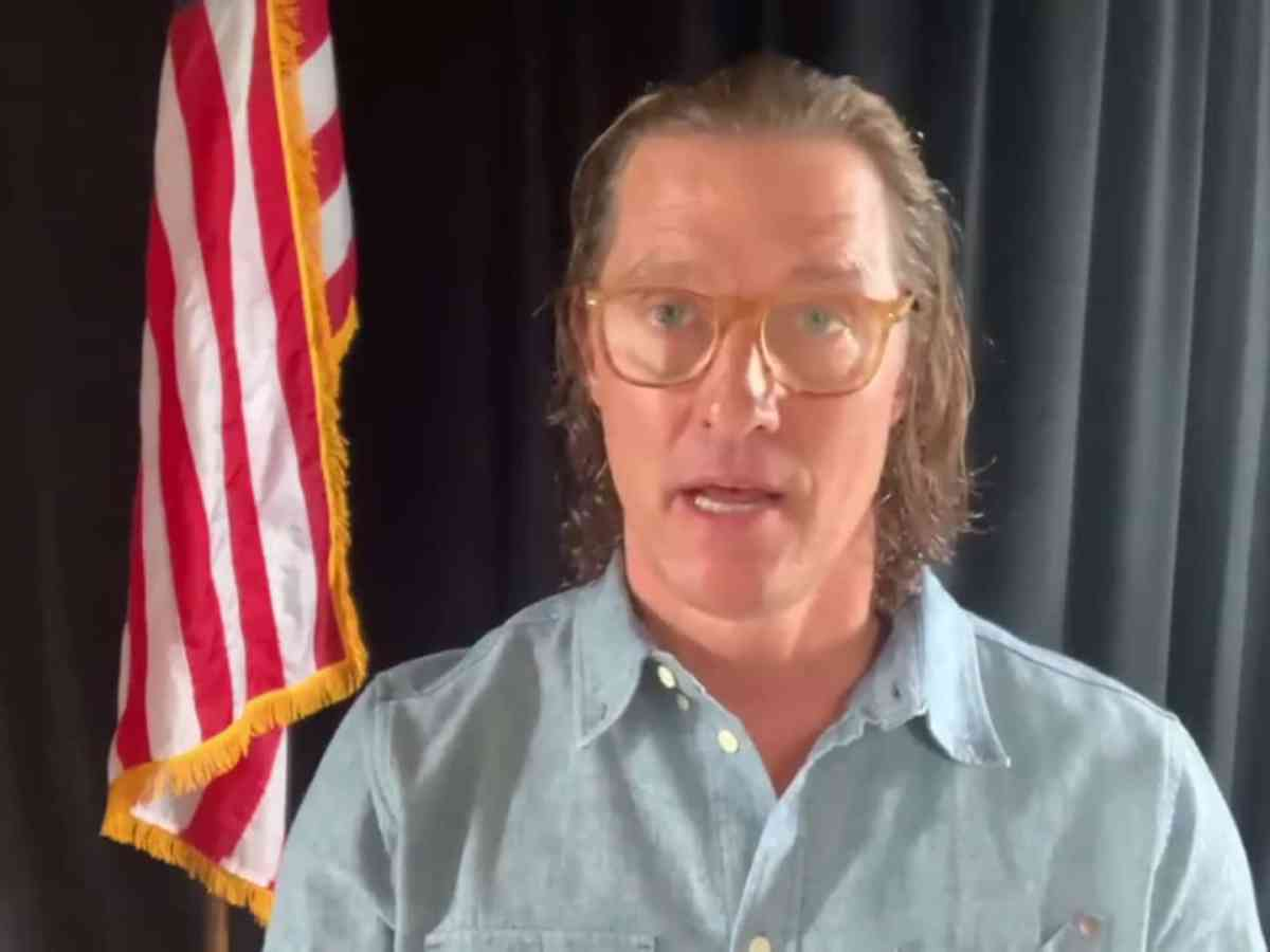 Matthew McConaughey gobernador texas