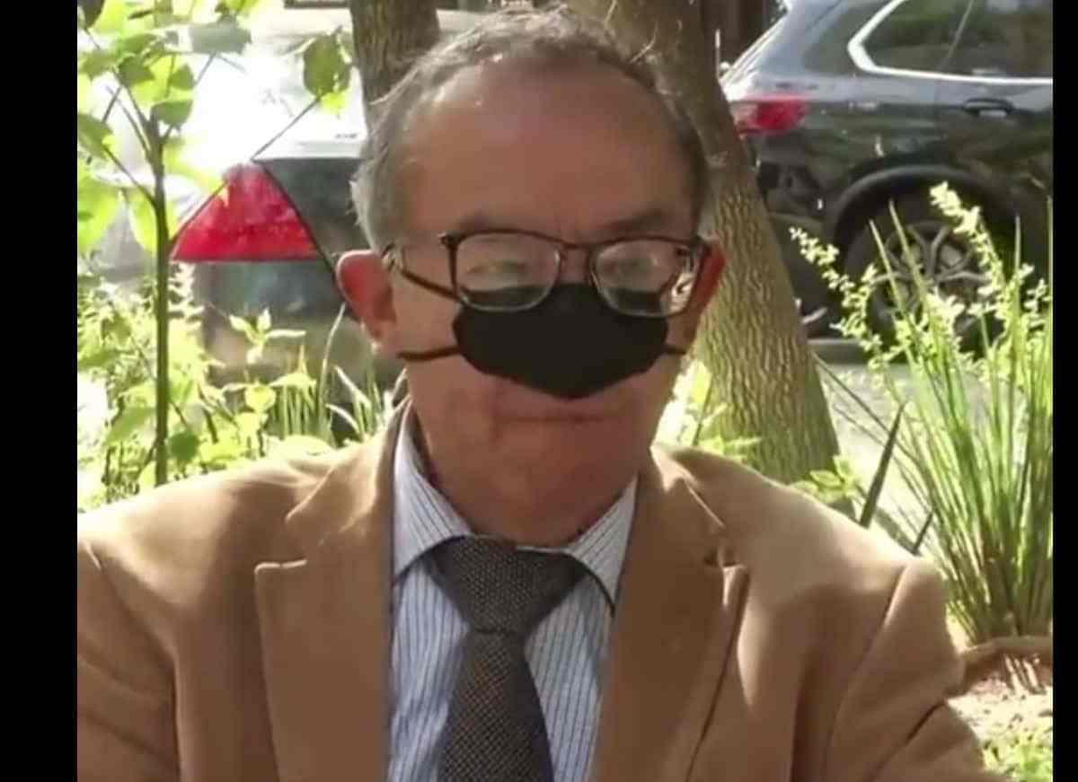 mascarilla solo para nariz