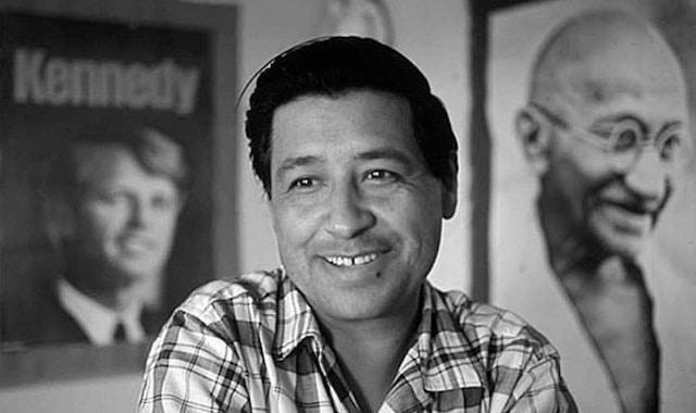 ¿Por qué es importante César Chávez en la lucha de los derechos humanos?