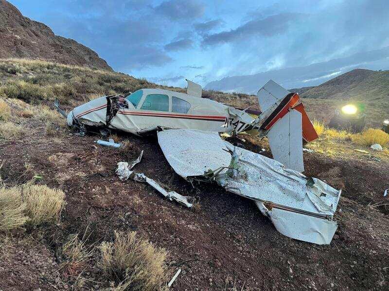Se estrella avioneta en Nuevo México con dos pasajeros