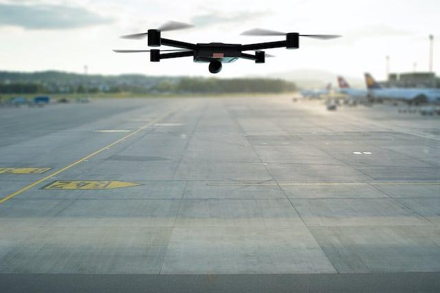 Vuelos son suspendidos por actividad ilegal de drones en el aeropuerto de Carolina del Norte