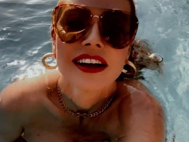 heidi klum video topless