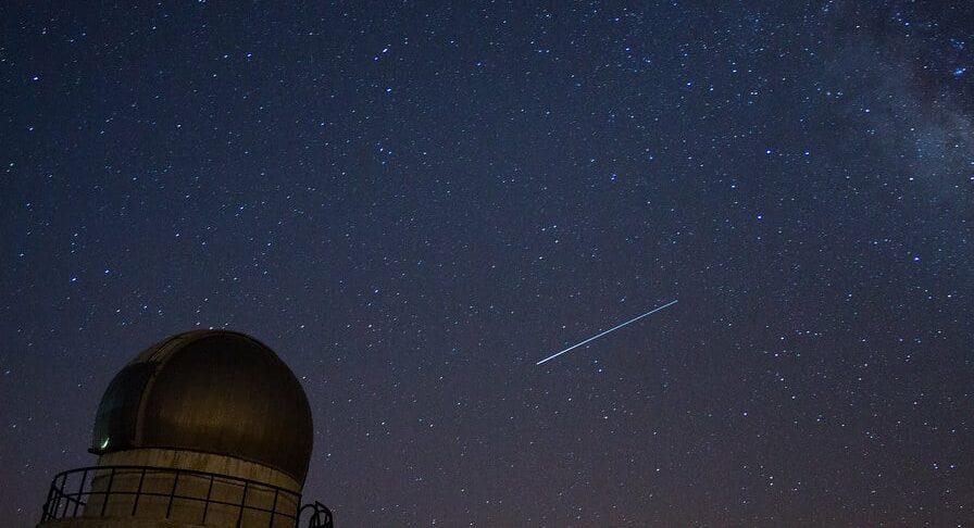 cómo ver lluvia meteoritos 2021
