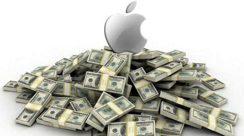 Apple Salarios Triángulo