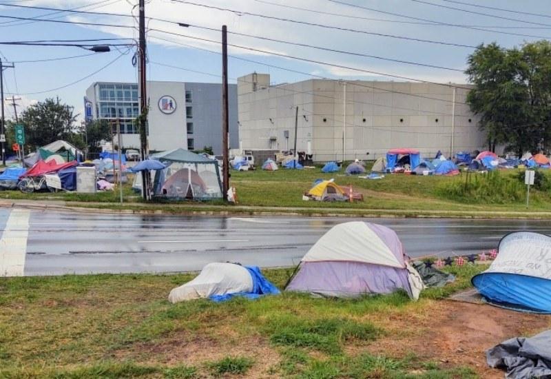 Personas sin hogar Charlotte
