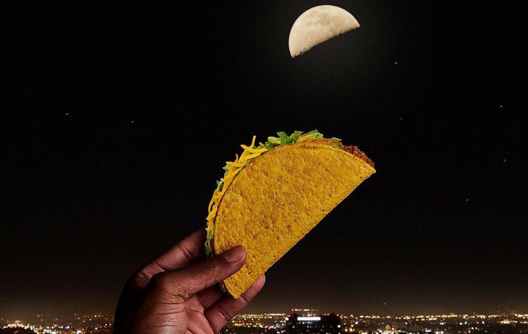 taco bell moon gratis