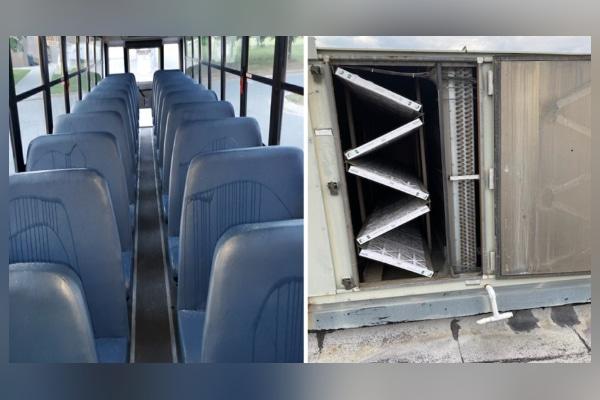 Doce estudiantes acusados de vandalismo en escuela de Carolina del Norte