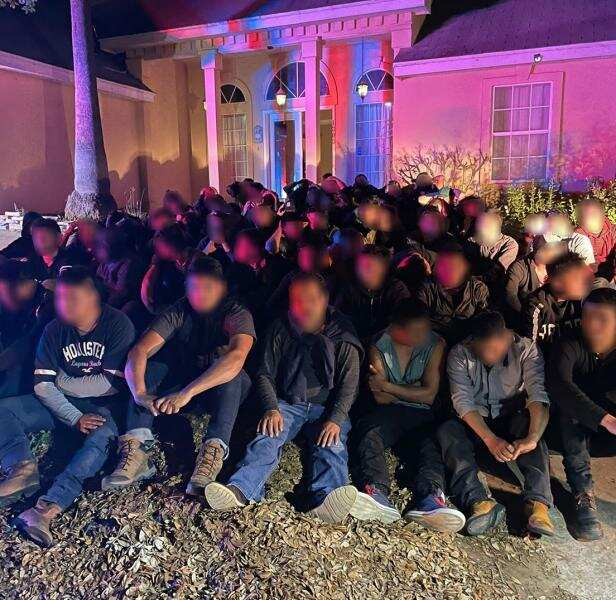 Más de 180 indocumentados detenidos en Laredo, Texas