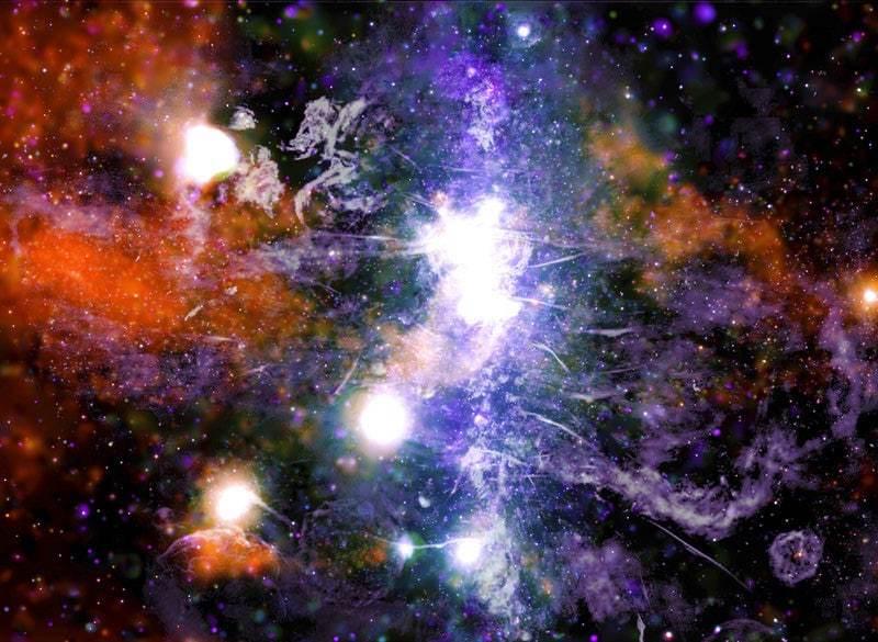 NASA revela foto del centro de la Vía Láctea, nuevos fenómenos detectados