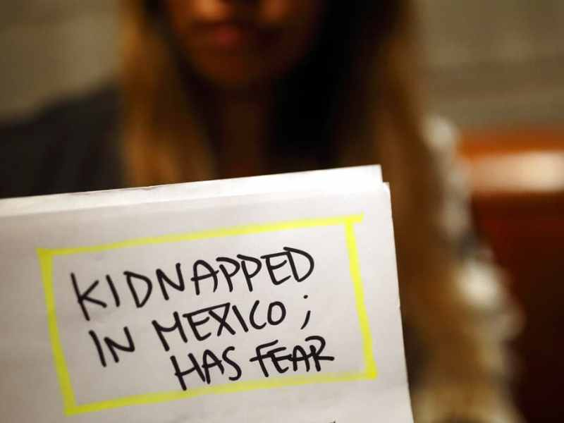No sé si es peor estar aquí o en Venezuela migrantes amenazados en México