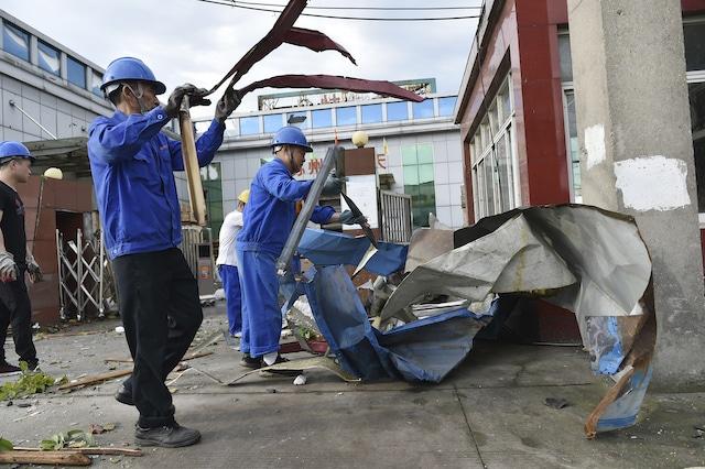 Dos potentes tornados en China dejan 7 muertos y más de 200 heridos