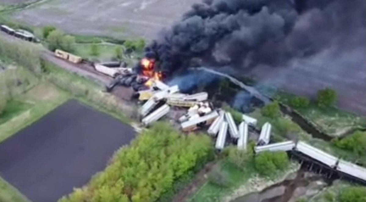tren descarriló iowa