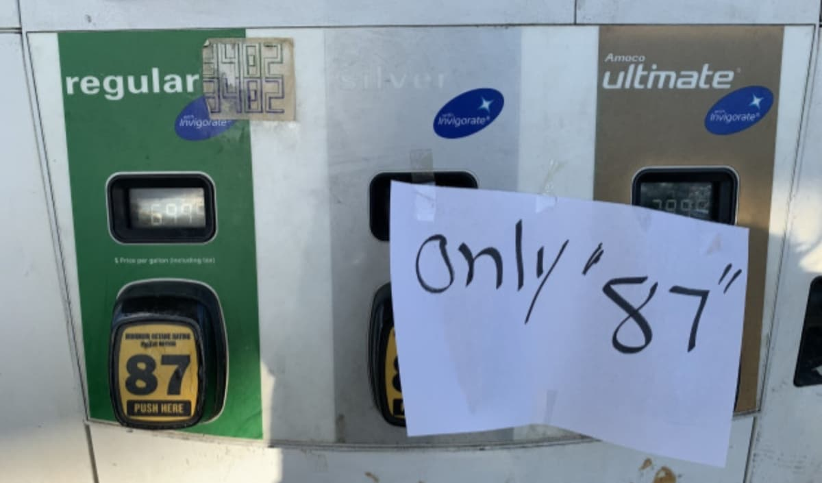 Virginia aumento gasolina