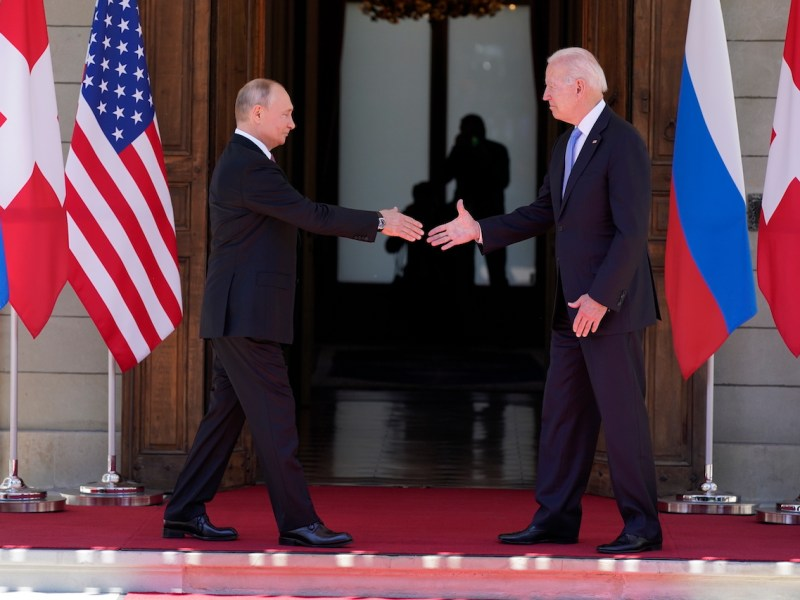 Biden y Putin se ven frente a frente en una cumbre en Ginebra