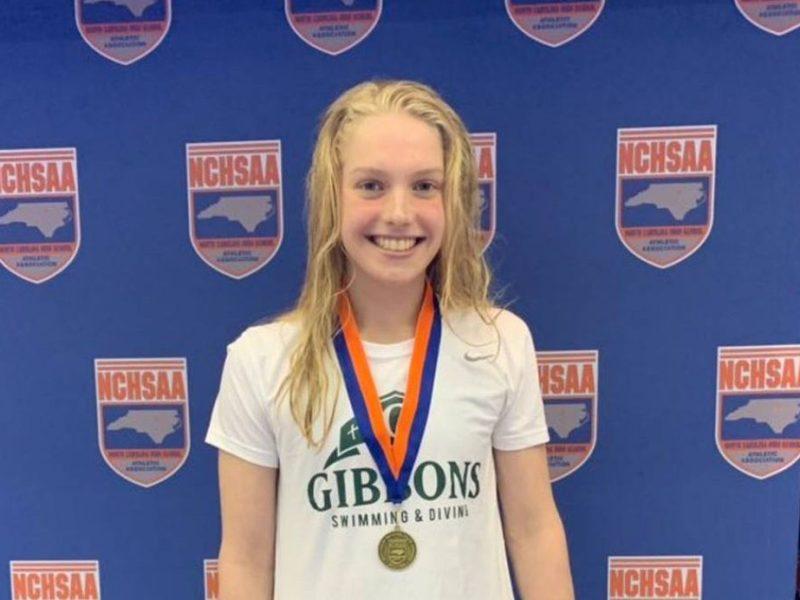 Nadadora de 16 años de Carolina del Norte irá a los Juegos Olímpicos de Tokio