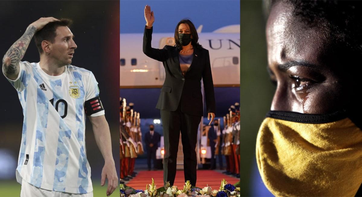 Kamala Harris en Latinoamérica: las mejores fotos de la semana