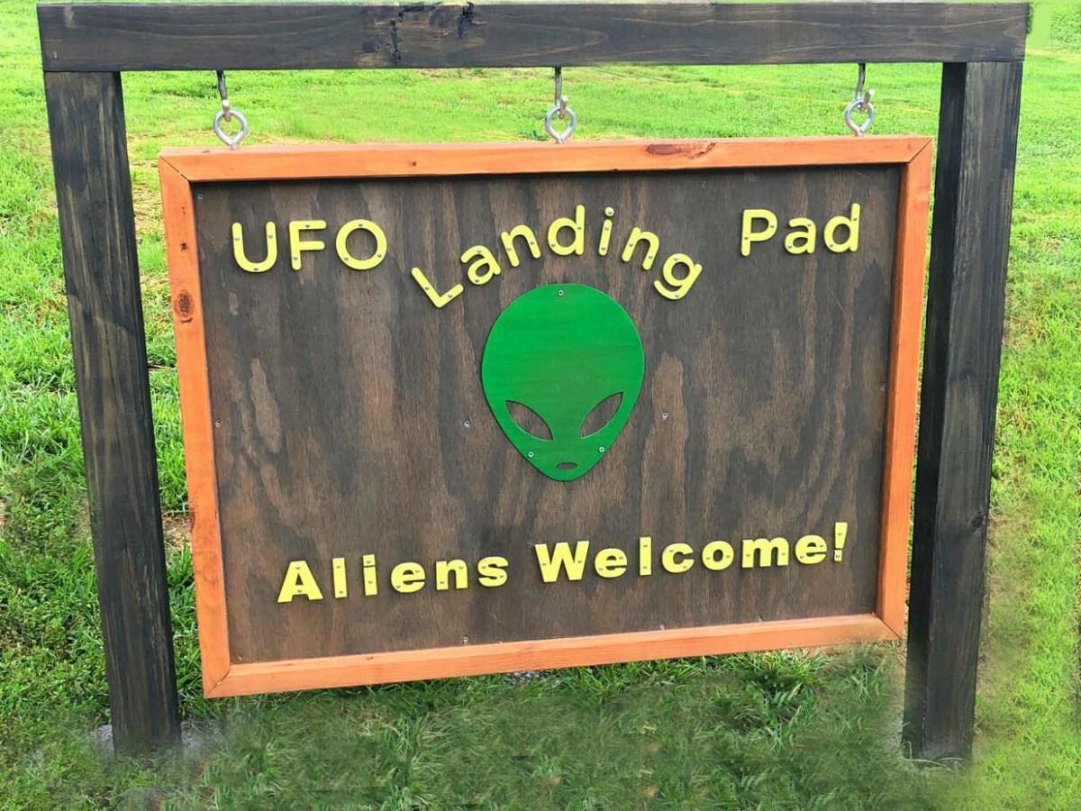 """La única """"plataforma de aterrizaje extraterrestre oficial"""" en EE. UU. está en Carolina del Norte"""