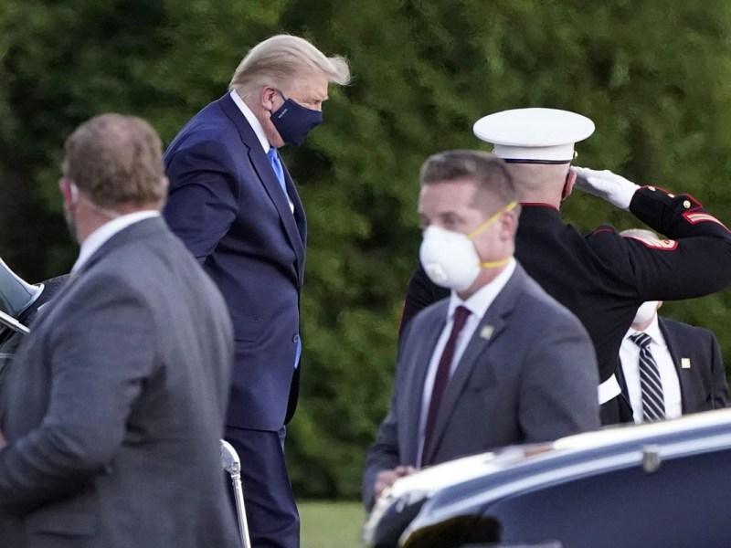 Trump expuso al COVID-19 a empleados del Servicio Secreto
