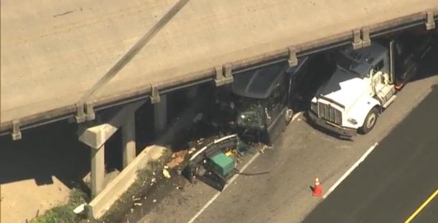 Dos personas trasladadas en avión después de accidente en la I-95